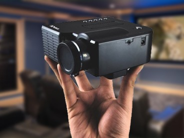 Pyle Mini LED Gaming Projector