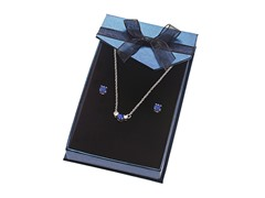 Sterling Silver Set Blue