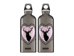 SIGG Dear Deer Smoke Aluminum Bottle 2pk