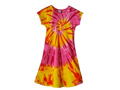 Womens A-Line Dress - Cherry Mango (S-XL)