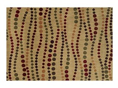 Parker Dots Beige Rug - 5 Sizes