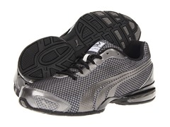 Puma Mens Cell Oliz 2, Aged Silver/Black