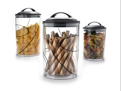 Acrylic Canister Set of 3