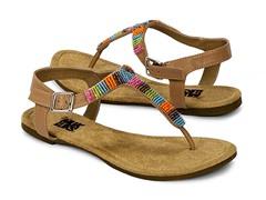 Muk Luks Women's Mila Sandals, Brown