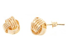 18k Plated Love Knot Earring