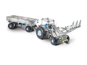Harvester-Tractor with Trailer Build Kit