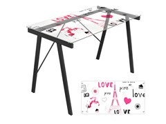 Lumisource Love in Paris Desk
