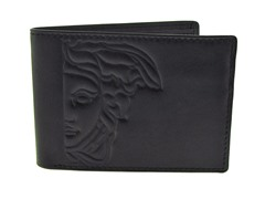 Versace Men's Dark Brown Wallet