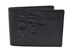Versace Men's Dark Brown Wallet