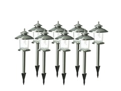 Norton Solar Light Set Stainless 8-Piece