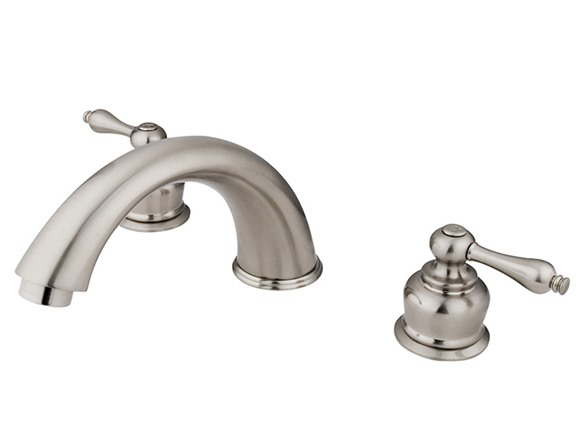 9-Inch Cast Spout Tub Filler, Nickel