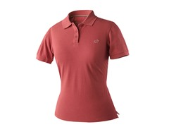 Women's Logo Polo - Slate Rose