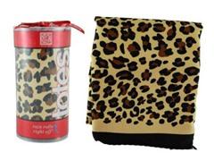 Totes Rain Scarf, Leopard