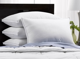 4-Pack Exquisite Hotel Collection Pillows-3 Sizes