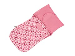 Munchkin French Terry Swaddle - Pink