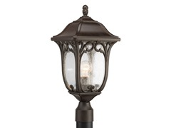 1-Light Post Lantern, Espresso