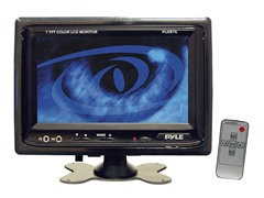 "7"" Headrest TFT/LCD Monitor w/ Shroud"