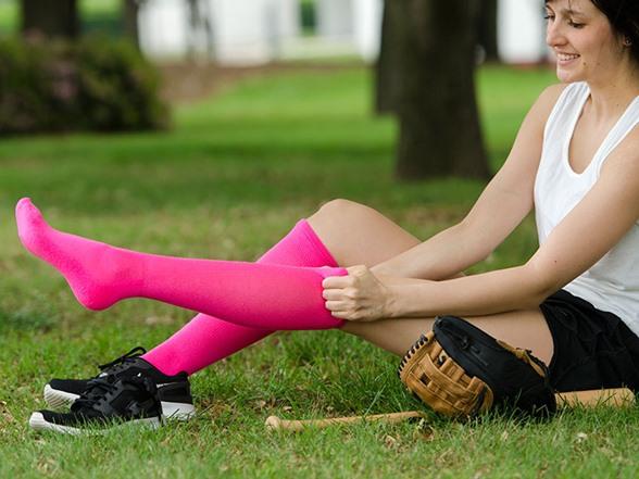 Women's Athletic Socks 6pk, Mult. Colors