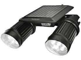 Touch Of ECO TOE002 TWINSPOT Solar Security Wireless Motion
