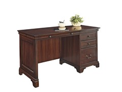 "54"" Single Pedestal Desk"
