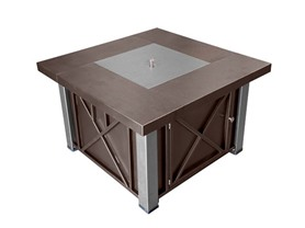 Bronze Fire Pit with Legs and Lid