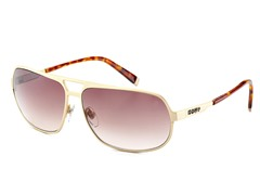 V763 Sunglasses, Gold