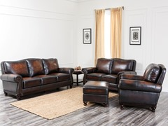 Victoria Leather 4-Pc Set