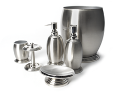 Blk Diamond 6-PC Brushed Nickel Bath Set