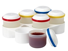 FlexPods Storage Jars & Stackable Freezer Trays