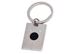 Stainless Steel CZ Key Chain