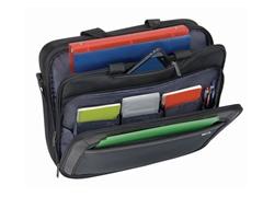 "Solo 17"" CheckFast Laptop Briefcase"