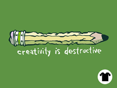 Creativity is Destructive