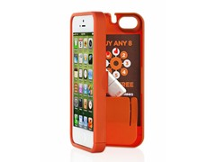 iPhone 5 Case w/Hinged Back - Orange