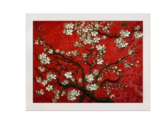 Van Gogh - Almond Blossom Red