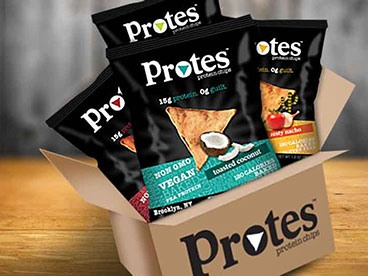 Protes Vegan Baked Protein Chips