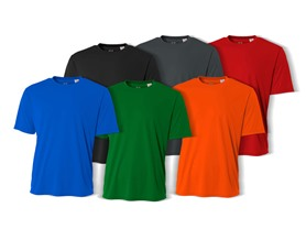 A4 Youth Performance T-Shirts Assorted 6-Pack (S-XL)