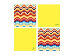 Fiesta Sunflower Multi Wave Coasters