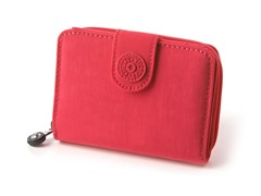Kipling New Money Deluxe Wallet, Vibrant Pink