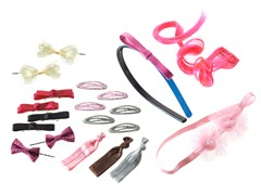 Remington Hair Accessory Bundle - Pink/Black