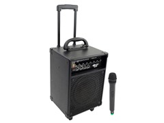 200W VHF Wireless Powered PA System w/ Mic