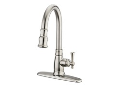Varismo Pull-Down Faucet, Brushed Nickel