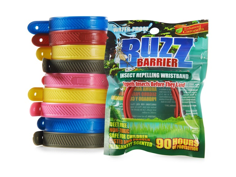 BuzzBarrier Mosquito Repellant Wristbands