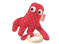 Grabbing Octopus Teething Rattle