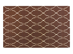 Fallon Dk Chocolate Rug (4 Sizes)