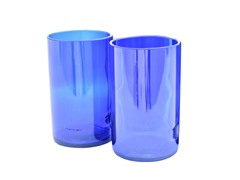 Blumarble Tall Skyy Vodka Water Glass Set of 2