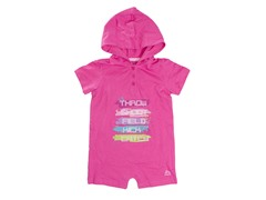 RBX Logo Hooded Athletic Romper (0-9M)