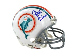 Jim Kiick Signed Miami Dolphins 1972 Mod