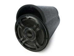 "BT Series 10"" 100W Amplified Tube Sub"
