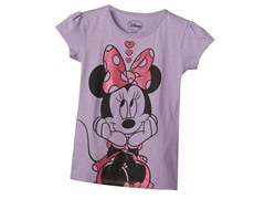 Minnie Mouse Tee - Lilac (4-6X)