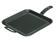 "Pro-Logic 12"" Cast Iron Square Grill Pan"